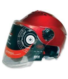 STM-502CAP ABS Half Face Bike Helmet