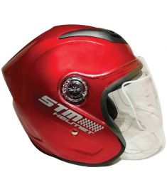 STM-518 ABS Half Face Bike Helmet