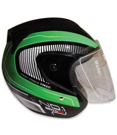 STM-557 ABS Half Face Bike Helmet