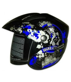 STM-588DV ABS Half Face Bike Helmet