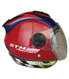 STM-601 ABS Half Face Bike Helmet