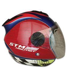 STM-601 ABS Half Face Bike Helmet