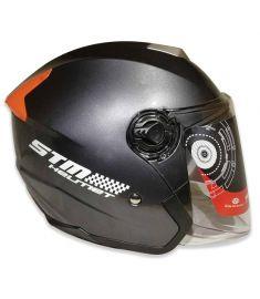 STM-603 ABS Half Face Bike Helmet