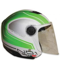 STM-757 ABS Half Face Bike Helmet