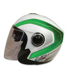 STM-957 ABS Half Face Bike Helmet