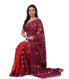 Tangail Jamdani Sari    THP693