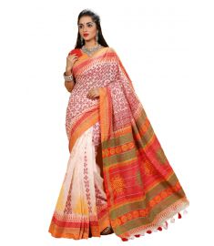 Half Silk Sari || TMT1196