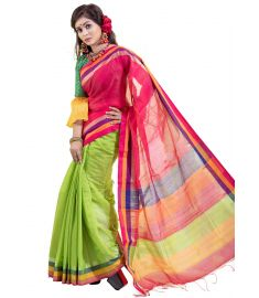 Half Silk Sari || TMT1230