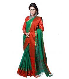 Cotton sari    TNJ374
