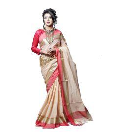 Cotton sari    TNJ381
