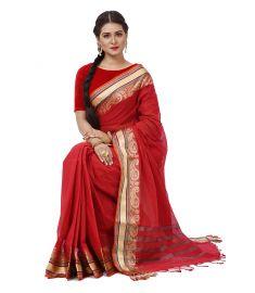 Cotton sari    TNJ386