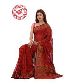 Gas Silk Sari || TNJ448