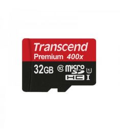 Transcend 32GB Premium microSDXC UHS-I Memory Card