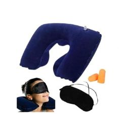 Travel Eye mask and Pillow Set