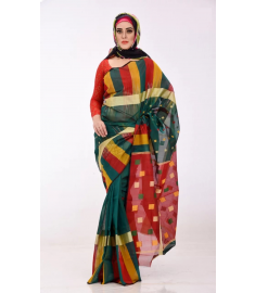 Tangail Cotton Sari || TSD268