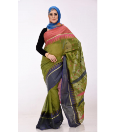Tangail Cotton Sari || TSD270