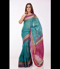 Half Silk Sari || TSD286