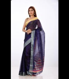 Half Silk Sari || TSD371