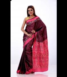 Rajshahi Silk Sari || TSD378