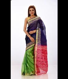 Half Silk Sari || TSD381