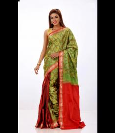 Rajshahi Silk Sari || TSD382