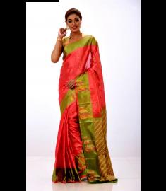 Rajshahi Silk Sari || TSD383