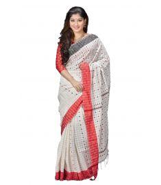 Khadi Cotton Sari || TSR793