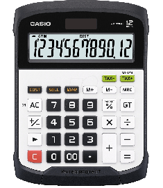 Casio Dust Proof And Durable Calculator (WD-320MT)