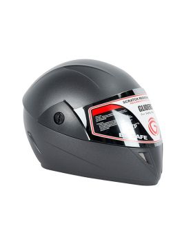 Gliders Jazz Motorcycle Helmet Matt Black