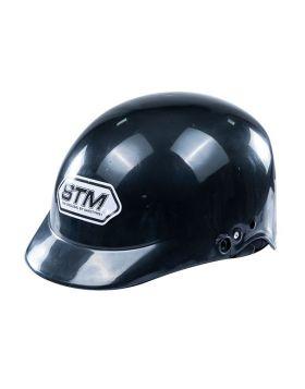STM Open Face Cap Helmet Black