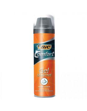 Bic Comfort Gel Sensitive 200ml