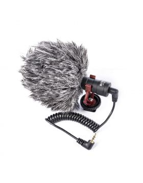 YouTube Video Microphone For Smartphone, PC And DSLR- (BOYA BY-MM1)
