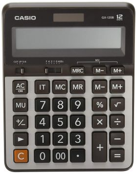 Casio GX-120B Electronic Desktop Calculator