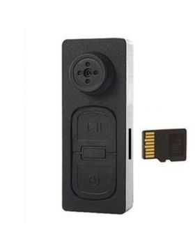Spy Button Video Camera 32 GB Memory Card Supported