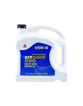 CITGO CitGard 600 Heavy Duty Engine Oil (SAE 15W-40) API CJ4 3.785 Liter