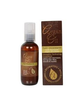 Hair Treatment With Moroccan Argan Oil Extract