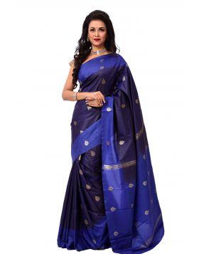ইন্ডিয়ান কাতান শাড়ি ।। DPK80