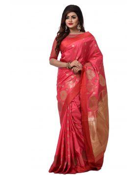 ইন্ডিয়ান বেনারসি কাতান শাড়ি ।। DPK81