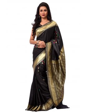 ইন্ডিয়ান বেনারসি কাতান শাড়ি ।। DPK86