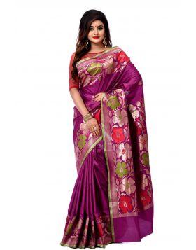 ইন্ডিয়ান বেনারসি কাতান শাড়ি ।। DPK95