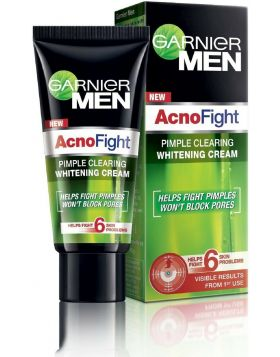 Garnier Men Acno Fight Pimple Clearing Whitening Cream 50ml