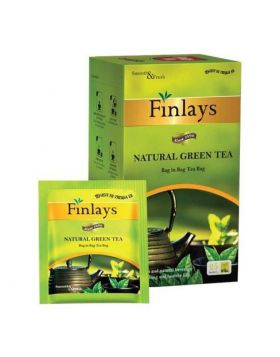 Finlays Natural Green Tea Bags 50 gm 25 pcs