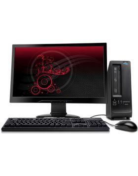 "Desktop Computer with Intel Dual Core 2GB RAM 160GB 17"" LED"