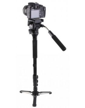 Yunteng VCT-588 Fluid Drag Head Camera Monopod and Tripod