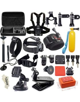 46-In-1 Accessories Kit For GoPro And Other Action Camera