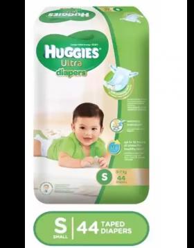 Huggies (Malaysia) Baby Dry Belt Diaper: 3-7 Kg (S) / 44 pcs