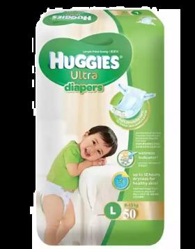 Huggies (Malaysia) Baby Dry Belt Diaper: 8-13 Kg (L) / 50 pcs