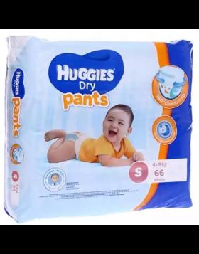 Huggies (Malaysia) Dry Pants Baby Diaper: 4-8 Kg / 66 pcs