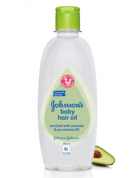 Johnson's Baby Hair Oil 200 Ml (Ind)