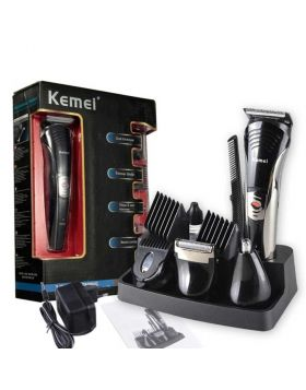 Kemei 590A 7 In 1 Shaver And Trimmer Black